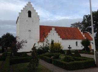 The church of Skeby where David and Mette Marie where married 13.11.1880